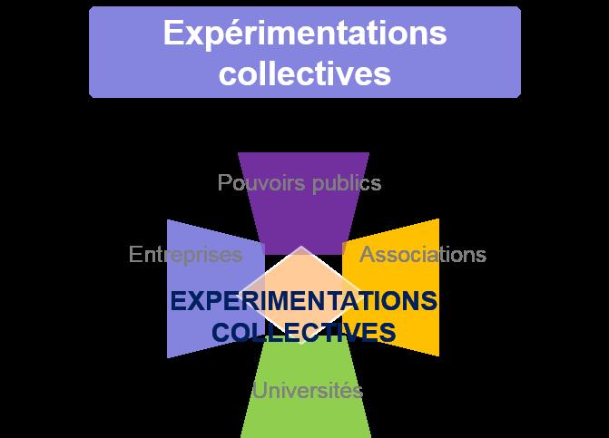 schema expérimentations collectives